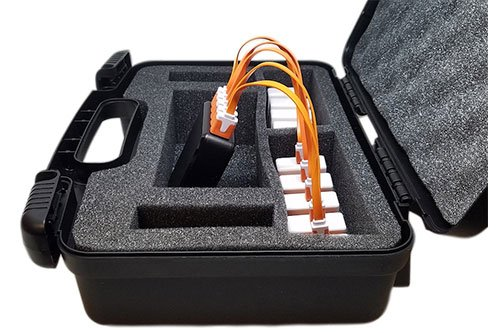 Case & <br> Charger
